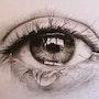 L'œil qui pleure. Patrick Couvet