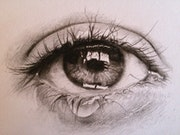 L'œil qui pleure.