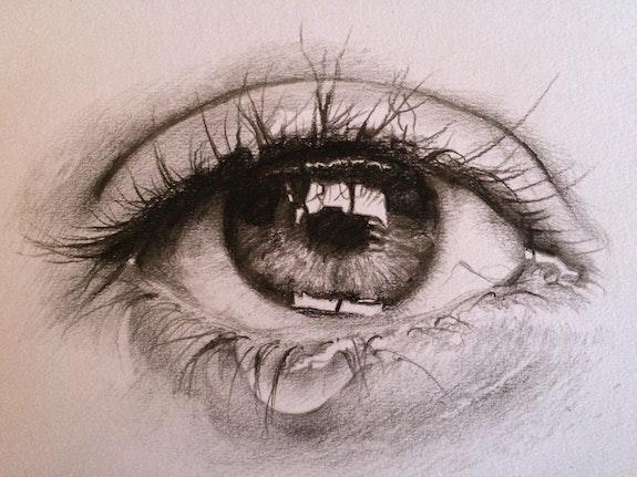 L'œil qui pleure. Patrick Couvet Patrick Couvet