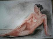 La femme nue. Jacqueline Charpentier Tarchala