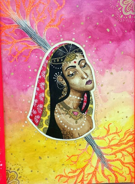 Icône indienne.  Sophia Force