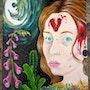 Autoportrait «Coeur brisé, corps aride». Sophia Force