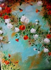 Eclosion de roses.