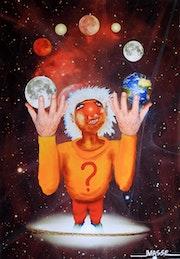 Le jongleur celeste.