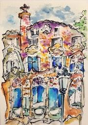 Casa Batlló. Yu Wa