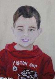 Portrait de mon petit fils!.