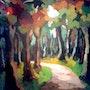 Por el bosque. Marisol Usandegi