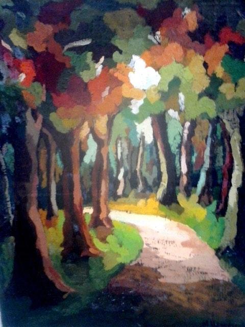 Por el bosque. Marisol Usandegi Marisol Usandegi