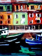 Puerto pesquero de Donostia.