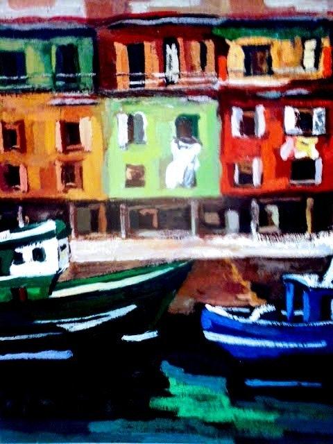 Puerto pesquero de Donostia. Marisol Usandegi Marisol Usandegi