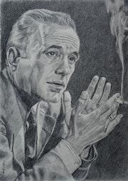 Portrait de Humphrey Bogart (2019).