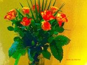 Bouquet de roses. Anita De Martini