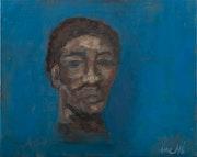 Avant-garde boxer by day, bepop poet by night. Ane Howard Fine Art Gallery