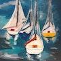 Regata veleros. Marisol Usandegi