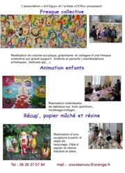 Animation arts plastiques.