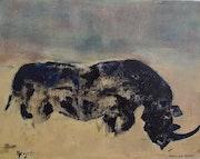 Rhino Noir. Dominique Virgili-Walch