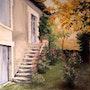 Authier house. Michèle Buchet