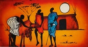 Traditional African Cattle Trade. Artzuri Africa
