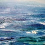 Marina mar Cantábrico. Marisol Usandegi