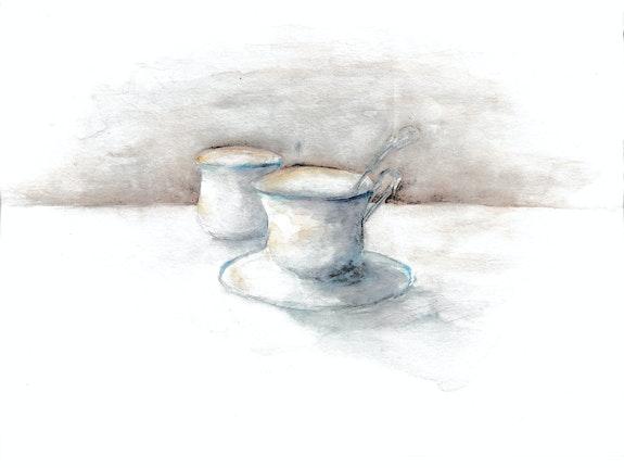Tasses. L. Guillemot Line Guillemot