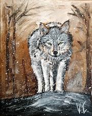 Loup en approche.