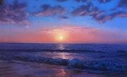 Ocaso de la aurora del mar. Andrew Sait
