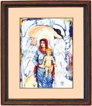 La Mère et l'enfant. Serge Mogère