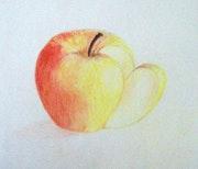 Une pomme… !.
