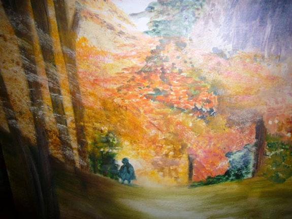 Forêt automnale. Patricia Juteau Patricia Juteau