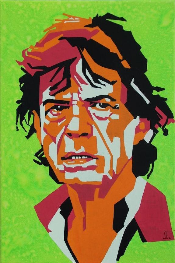 Mick Jagger. L'aquarelle Autrement L'aquarelle Autrement