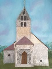 L'Eglise de Vieu en Valromey.