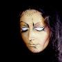 Masque d'or. Braham Zoubiri