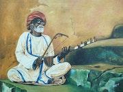 Rajasthani chacha. Prdeep Pandey
