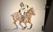 Cavalière de polo.