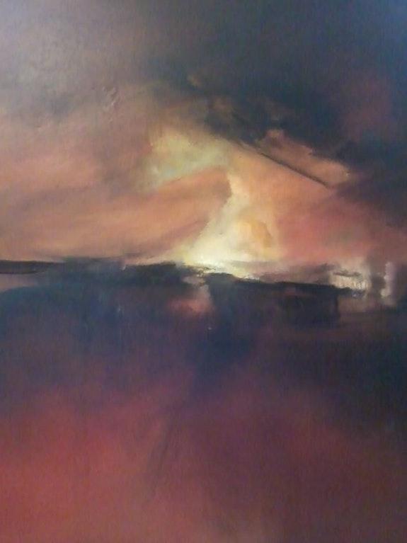 Crépuscule.  Oscar Heinz
