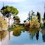 Au bord de l'étang. Claude Beretti