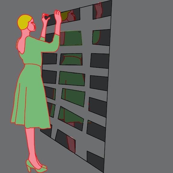 Pieces - Pop art. Rina Mualem Rina Mualem