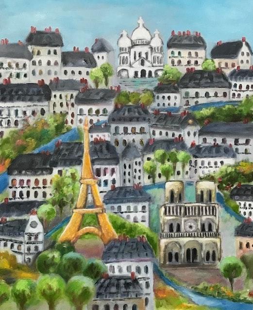 Paris toujours.  Dominique Mansour