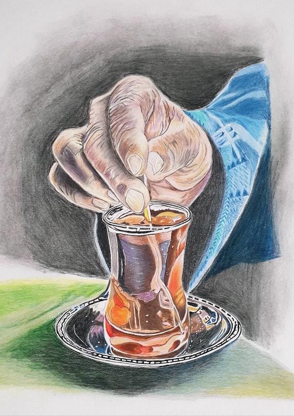La tasse de thé. Sophie Ackermann Sophie Ackermann