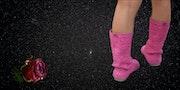 Les bottes roses.