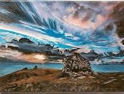 Ciel d'orage à crozon Finistère.