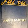 J'ai Vu Bindung / Couverture souple Leitartikel / Au Bureau Paris 1914 - 1920 Fr. Antiguedadesoratam