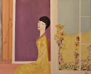 La Femme en Jaune. Michela Curtis