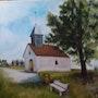 La chapelle Ste Thuise. Monique Girardot