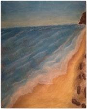 Entre plage et mer….