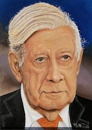 Helmut Schmidt. Thomas Düssel