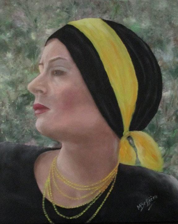 Auto-portrait… Années 70. Maryse Bessière Maryse Bessière