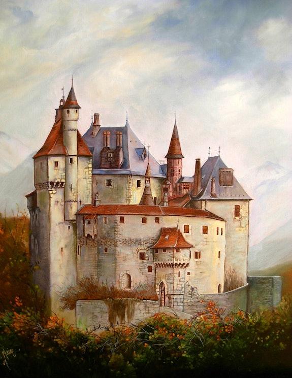 Chateau de Menthon saint Bernard. Maire James James