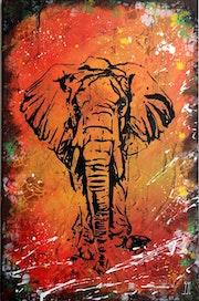 L'art d'être éléphant.