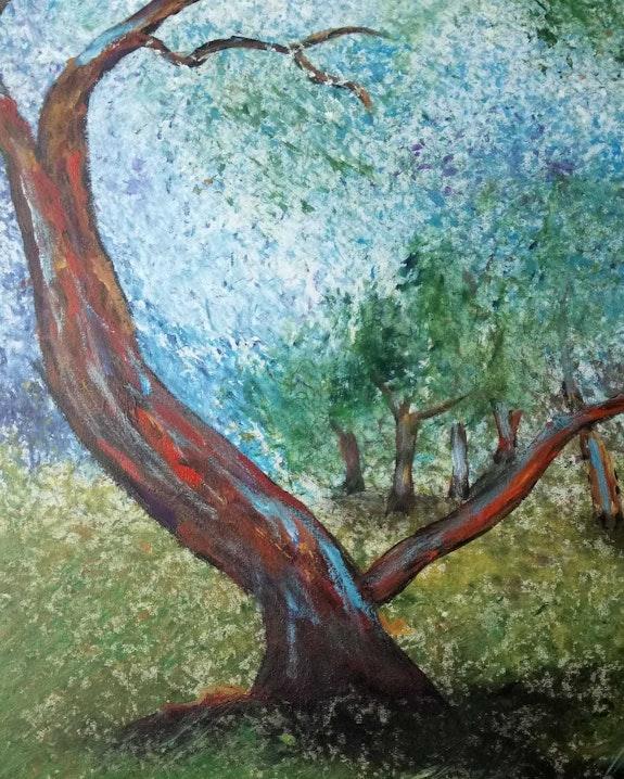 The dying tree - L'arbre mourant. Gudrun Müller Gudrun Müller